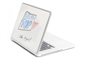 drawtop1 300x199 А Вы рисуете на корпусе своего ноутбука?