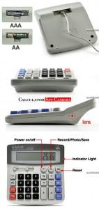 Casios Desktop Calculator Spycam 2 4 142x300 Самая офисная скрытая камера