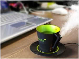 SteamMug 300x225 Необычный увлажнитель офисного воздуха
