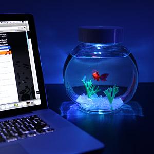 electronic goldfish Электронная золотая рыбка