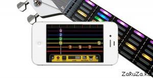 gtar 2 300x154 Интерактивная обучающая гитара