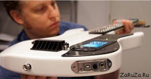 gtar 300x157 Интерактивная обучающая гитара