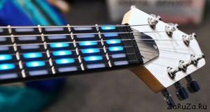 gtar 33 300x161 Интерактивная обучающая гитара