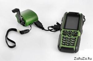 Vigis Cell Phone Walkie Talkie2 300x195 Телефон с функцией рации